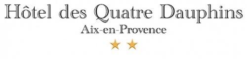Hotel à Aix-en-Provence - Hotel des Quatre Dauphins, Hotel 2 étoiles