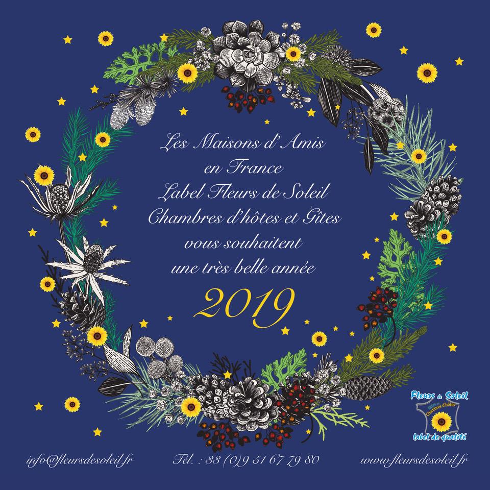 Chambres d'hôtes et gites   recherche label fleurs de soleil